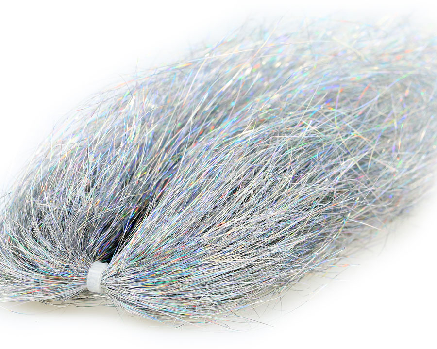 Vlasy SYBAI Angel Hair, Holographic Silver