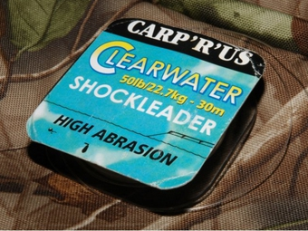 Fluorocarbon Carp r us Clearwater Shock Leader