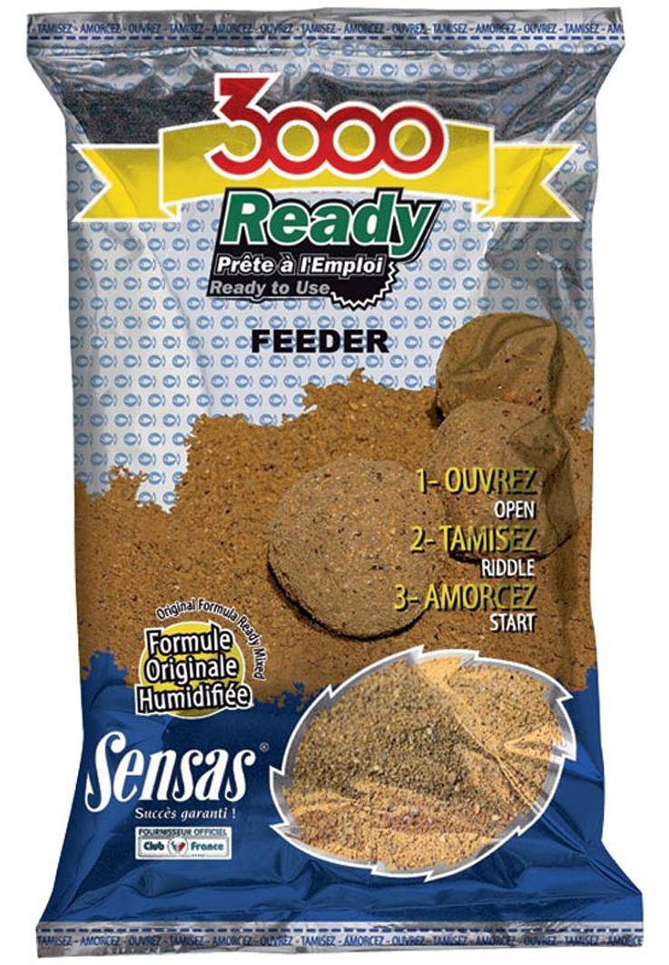 Vlhčené krmivo SENSAS 3000 Ready Feeder