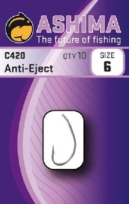 Háčiky ASHIMA C-420 Super Anti Eject Carp