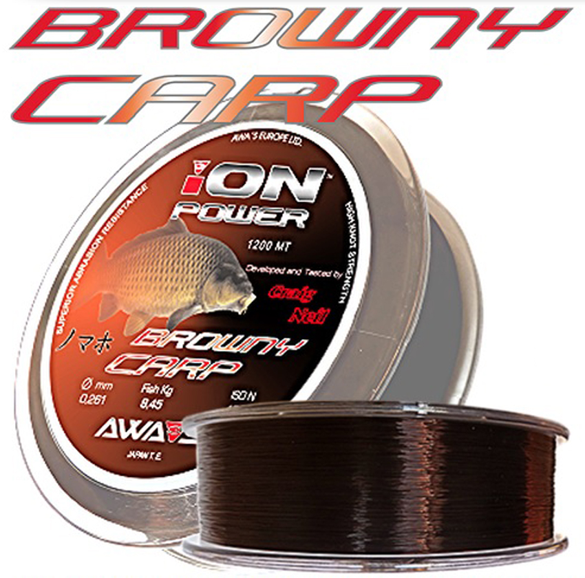 Vlasec AWA´S Ion Power Browny Carp