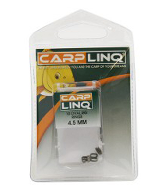 Stopery a ovály CARP LINQ Cone Ring Stops & Oval Rings