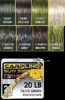 Šňůra Carp Linq Gold Series Silky Soft Fast Sinking