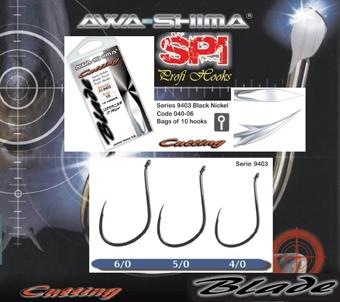 Háčik AWA-SHIMA Cutting Blade 9403