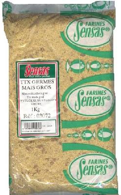 Kukuričná placka SENSAS TTX pomletá jemná