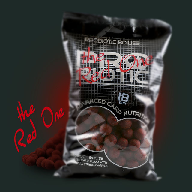 Boilie STARBAITS Probiotic Red One