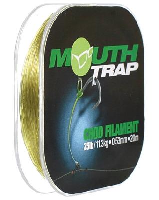 Náväzcový vlasec KORDA Mouth Trap Chod Filament