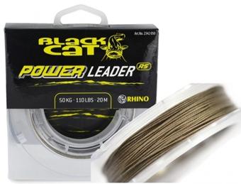 Nadväzcová šnúra Black Cat Power Leader RS