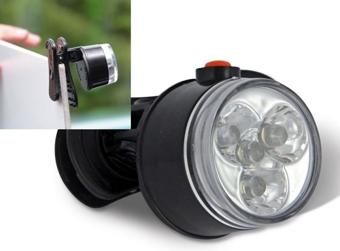 LED svetlo so štipcom