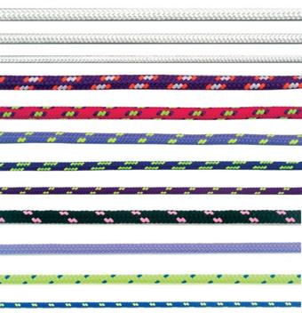 PES šňůra polyesterová pletená bez jádra