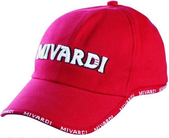Kšiltovka MIVARDI TMW Red