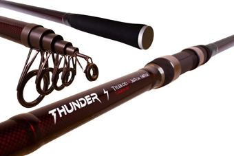 1 + 1 = prút DELPHIN Thunder Telerod 3,60m/ 140g