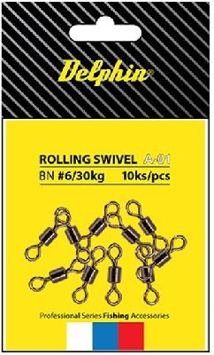 Obratlík DELPHIN Rolling Swivel