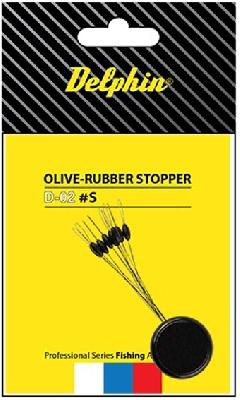 Stoper DELPHIN Olive Ruber Stopper