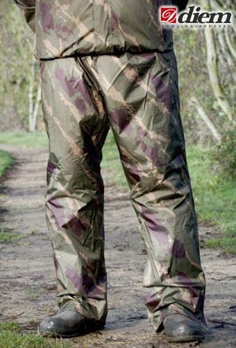 Nohavice DIEM mens Packaway Pants XL camo