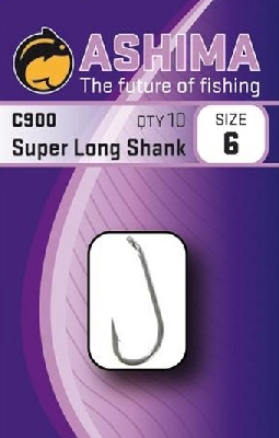 Háčiky ASHIMA C-900 Super Long Shank