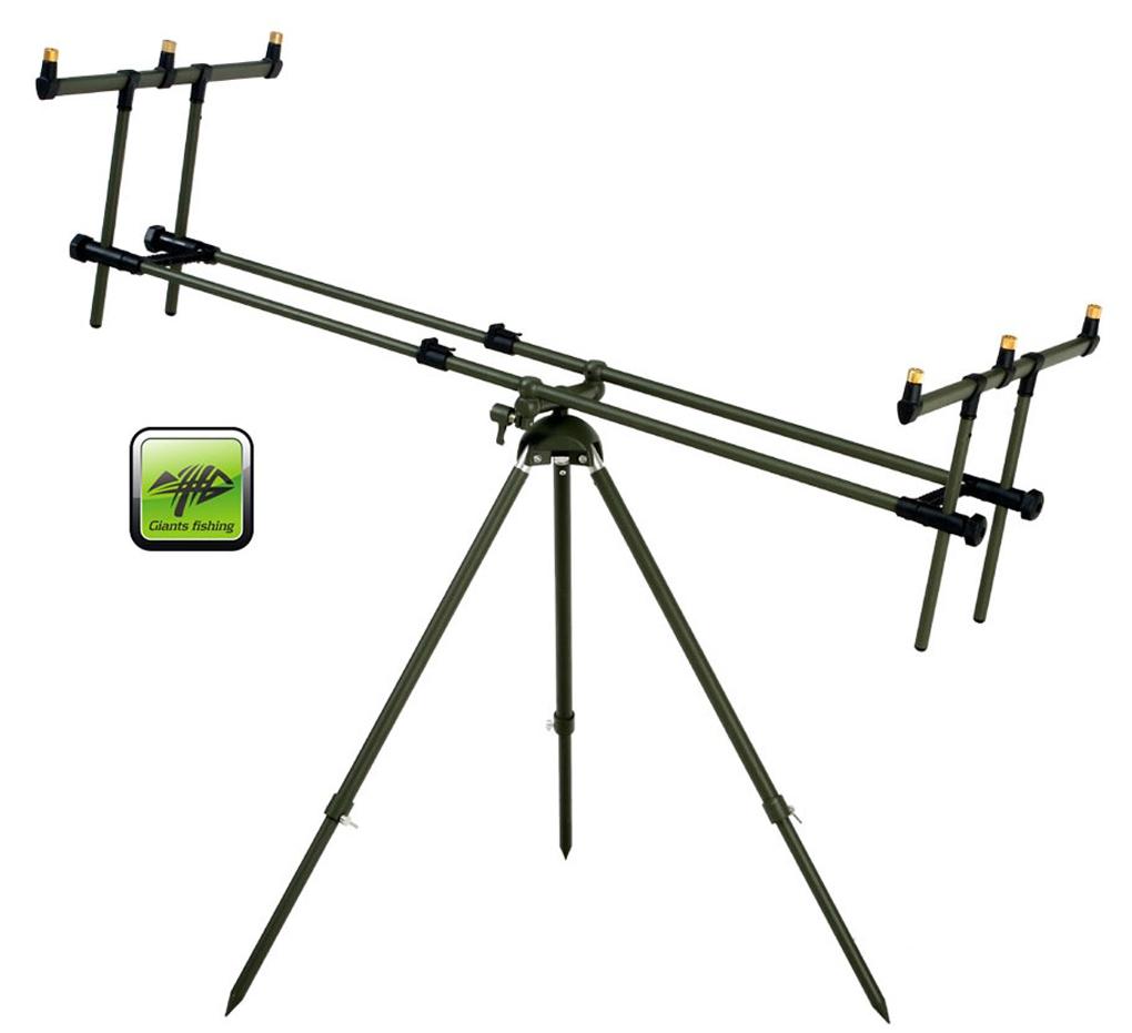 SET = stojan + 2x signalizátor + 4x rohatinka + 2x swinger