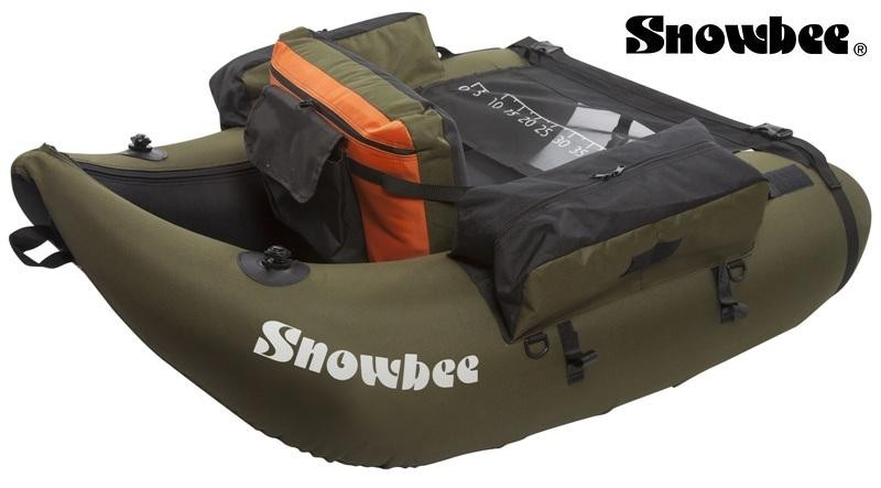 Čln SNOWBEE Belly Boat Float Tube Kit