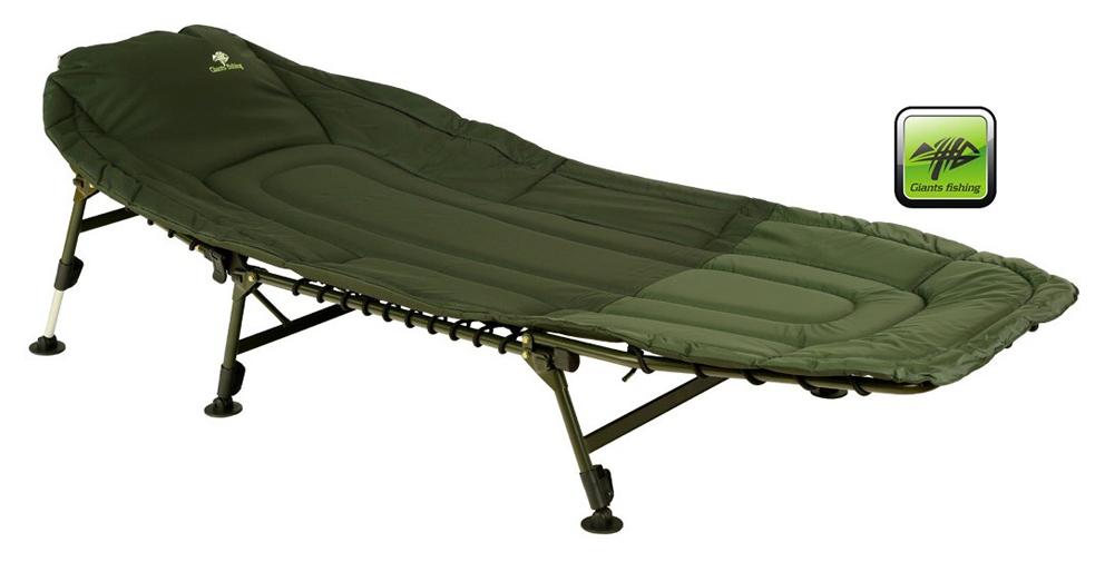 Lehátko Giants Fishing Specialist Bedchair 6Leg