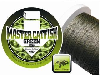 Šnúra Giants Fishing Master Catfish Green
