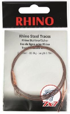 Oceľové lanko RHINO Steel Traces