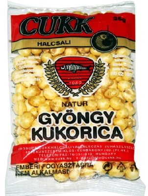 Foukaná kukuřice CUKK
