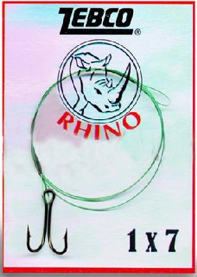 Oceľové lanko RHINO s dvojháčikom
