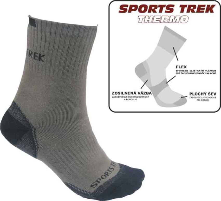 Ponožky Sports Trek Thermo