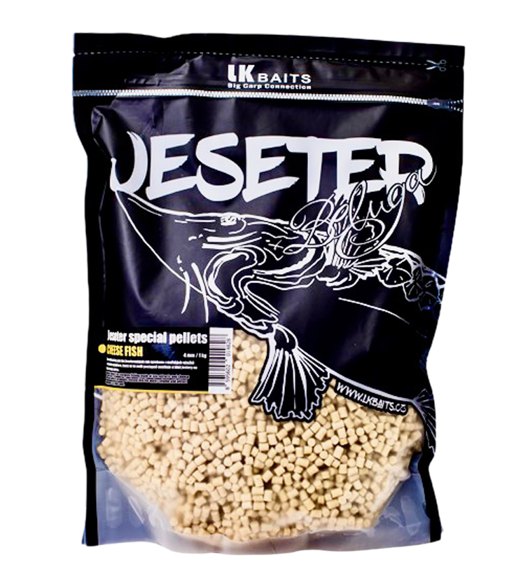 Pelety LK BAITS Jeseter Special Pellets Cheese