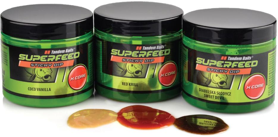 Dip TANDEM BAITS SuperFeed X Core Sticky