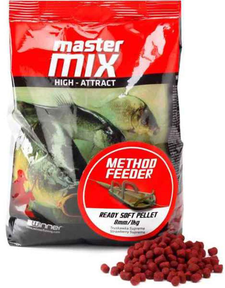 Mäkké pelety WINNER Master Mix Method Feeder Ready Soft Pellet