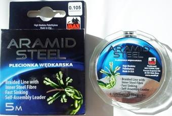 Aramidové lanko Aramid Steel