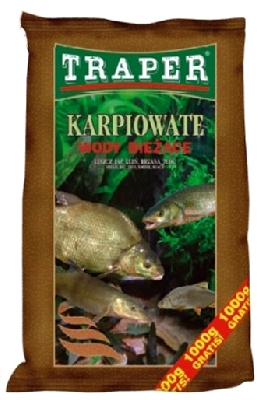 Krmivo TRAPER - řeka