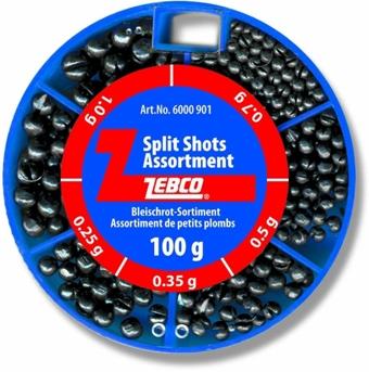 Set brokov ZEBCO Split Shots