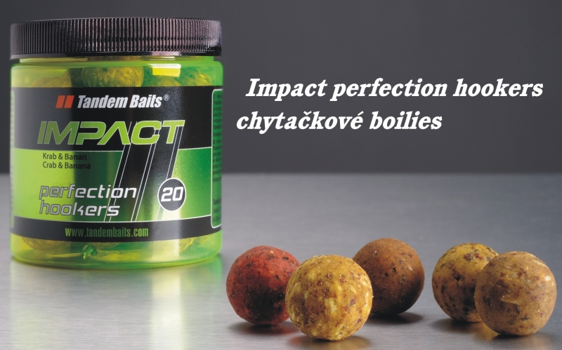 Chytacie boilies Tandem Baits Impact Perfection