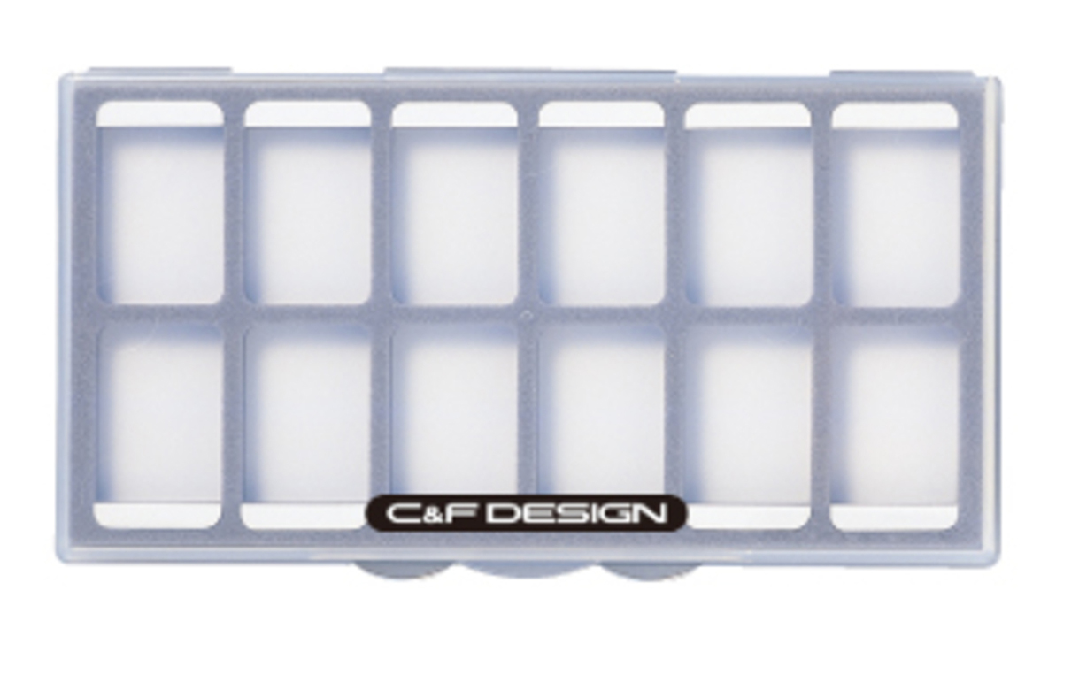 Krabička C&F Design Magnetic Accessories Pallet 12 Compartments CFLA-30AC