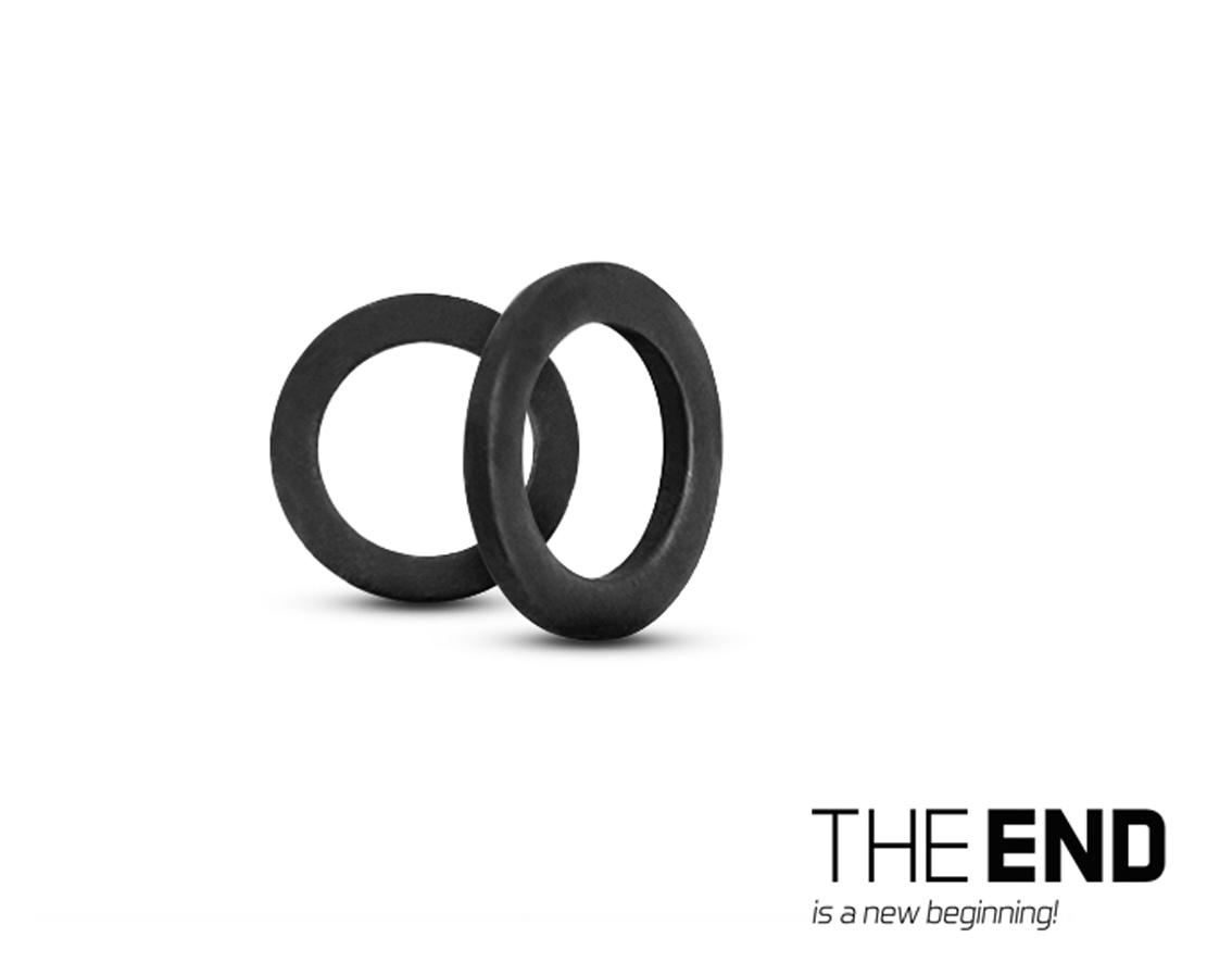 Krúžky DELPHIN The End Round Ring