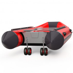 Obrázek 4 k Dvojité přepravní kolečka EW200 černo / červené