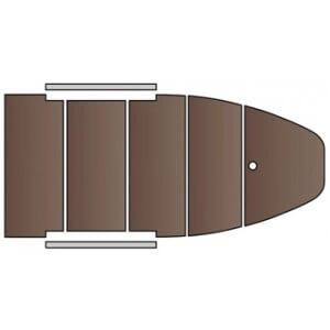 Obrázek 7 k Rybářský člun KOLIBRI s pevnou vyztuženou podlahou