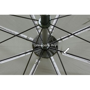 Obrázok 3 k Dáždnik DELPHIN PVC s predĺženou bočnicou