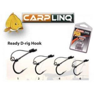 Obrázok 2 k Háčiky Carp Linq Ready D-Rigs