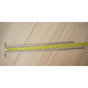 Závesová tyč pre izolované udiarne - nerezová