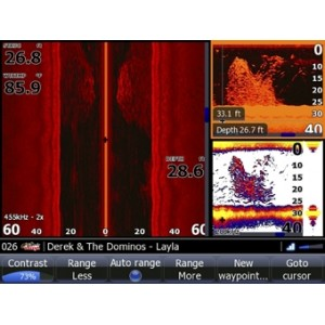 Obrázek 5 k Lodný audio server LOWRANCE SonicHub + reproduktory
