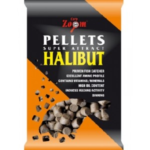 Feeding CarpZoom Halibut Pellets