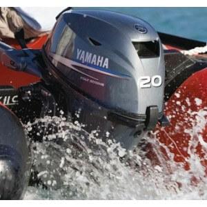 Obrázok 2 k Benzínový motor YAMAHA F 15/ 20/ 25