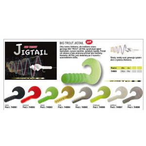 Obrázok 2 k Nástraha CORMORAN Big Trout Jigtail 8ks