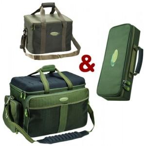 SET = taška MIVARDI New Dynasty Compact + taška na swingre + thermo taška Premium