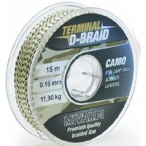 Šnúra MIVARDI Terminal D-Braid Camo