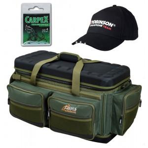 SET = taška CARPEX Table XL 2 v 1 so stolíkom + šiltovka