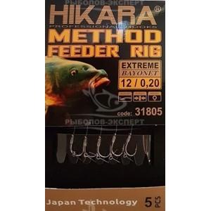 Hotový nádväzec HIKARA Method Feeder Rig